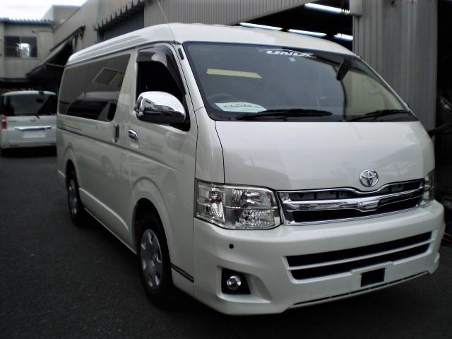 2012 Toyota Hiace Super GL Long/ Wide