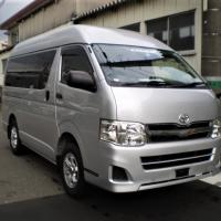 2014 TOYOTA HIACE BUS HIGH TOP