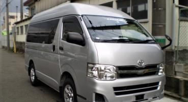 2013 TOYOTA HIACE BUS HIGH TOP