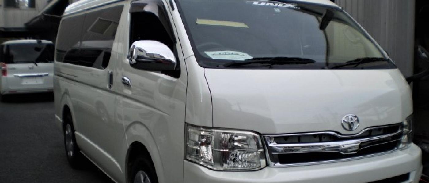 2012 Toyota Hiace Super GL Long/ Wide